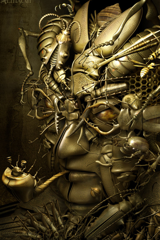 wallpaper gold. Gold face iPhone wallpaper and