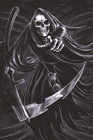 Grim Reaper IPhone Wallpaper And IPod Touch Background