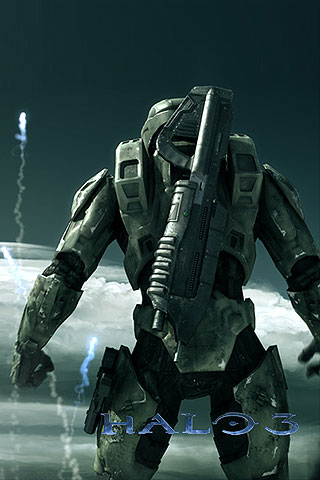 iphone halo 3 free wallpaper halo 3 iphone background