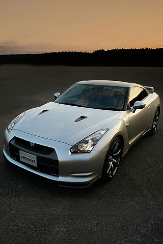 To put this Nissan GTR iPhone Wallpaper on your iPhone rightclick on the