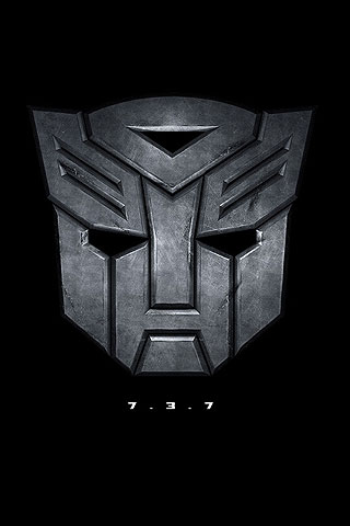 Iphone Autobots Symbol Transformers Free Wallpaper