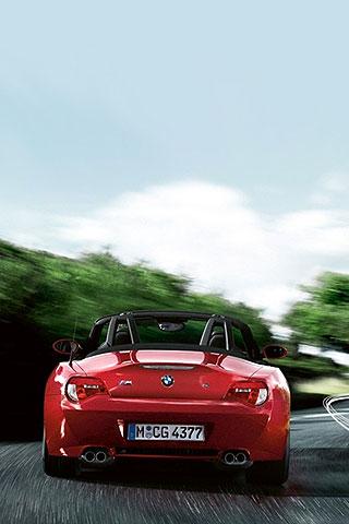Iphone Bmw M Z4 Roadster Back Side Free Wallpaper Bmw M
